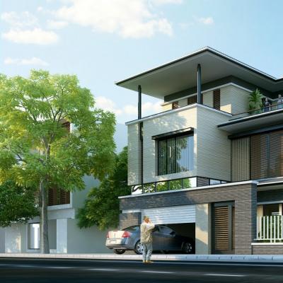 Tổng quan và cái nhìn chung về nhà biệt thự 2 tầng đẹp hiện đại